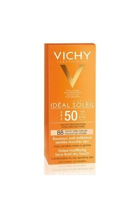 Vichy Ideal Soleil Spf50+ Dry Touch Tinted 50 ml