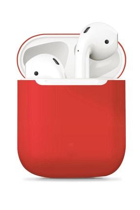 Apple Airpods Kırmızı Airbag 13 Silikon Kılıf