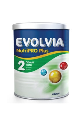 Evolvia 2 Devam Sütü Nutripro Plus 400 gr