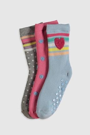LC Waikiki Kız Çocuk Açık Mavi Fkp Çorap