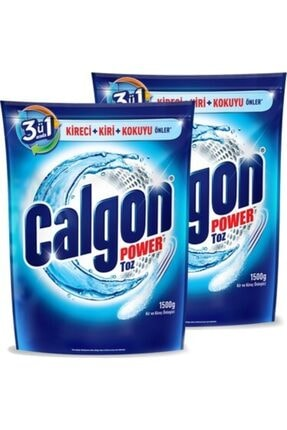 Calgon Power Toz Deterjan 1500 gr 4 Adet