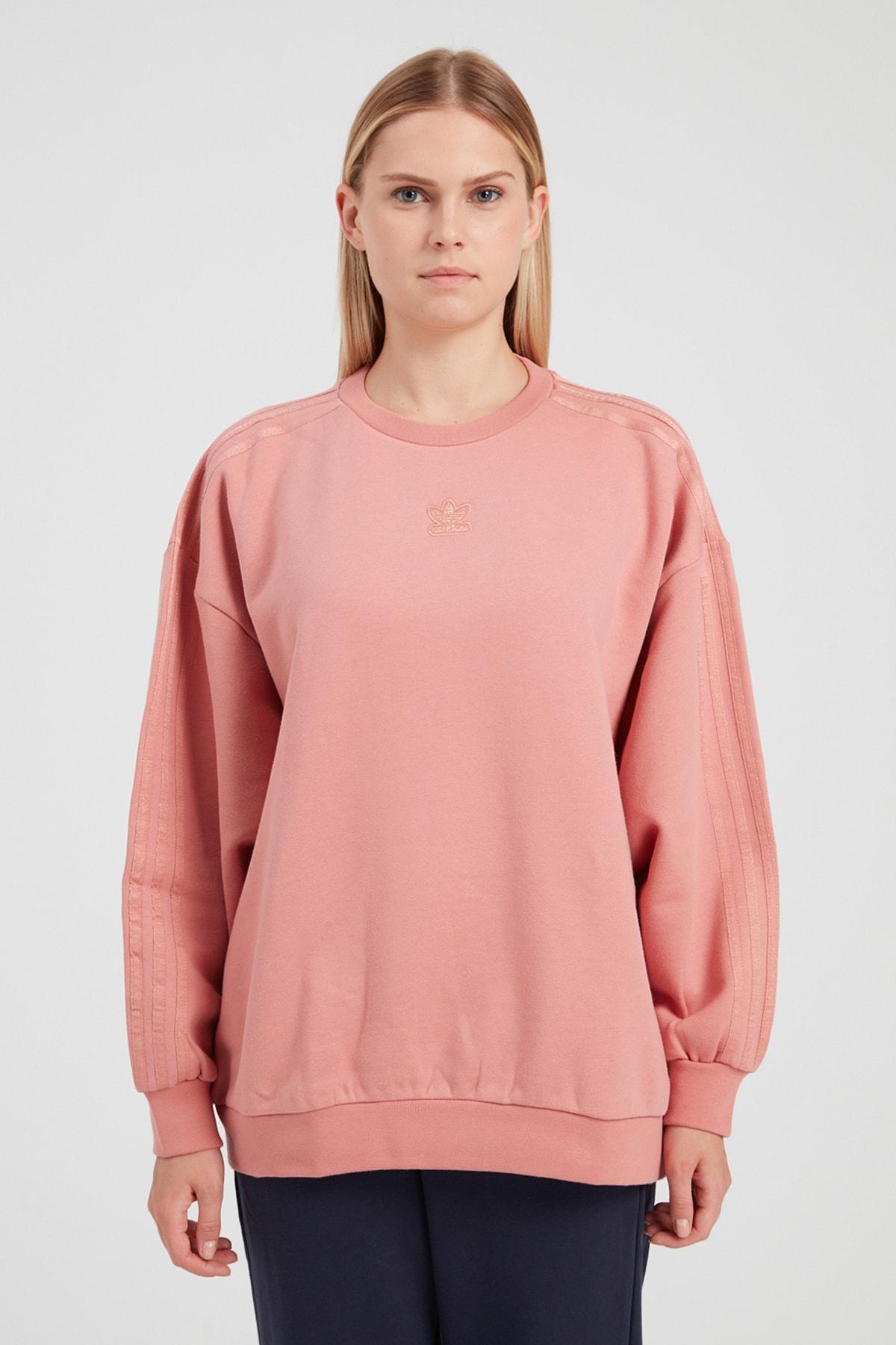 adidas Kadın Spor Sweatshirt - Crew Sweatshırt 1