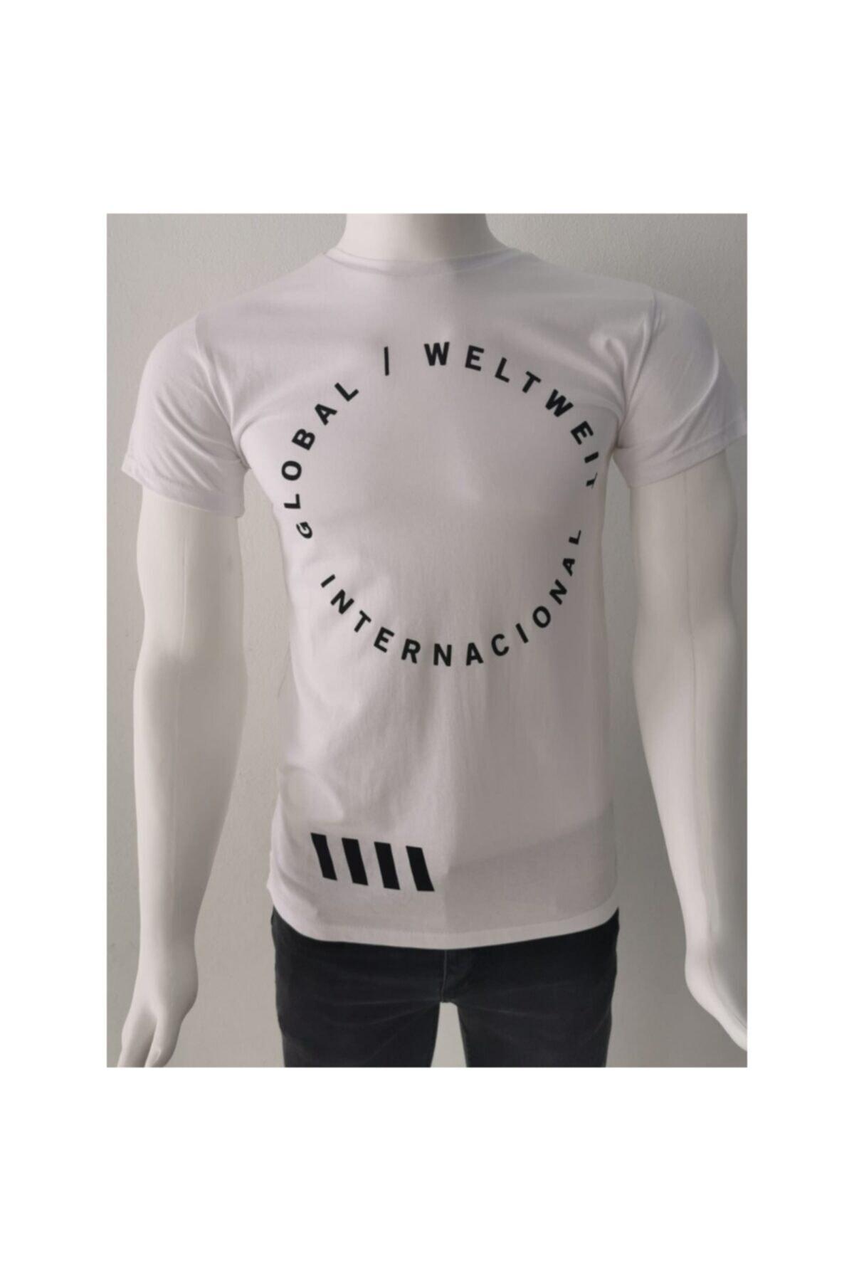 Ceo Erkek  Beyaz  T-shirt 1