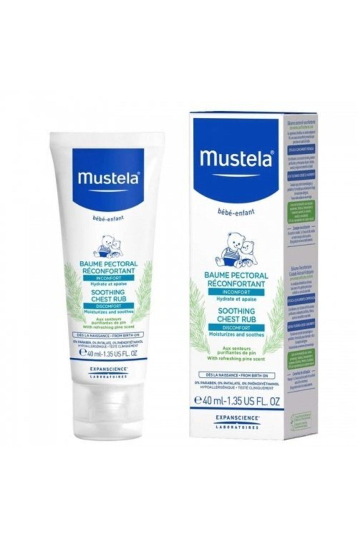 Mustela Soothing Chest Rub 40ml | Yatıştırıcı Göğüs Balsamı 1