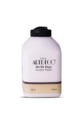 Artdeco Beyaz Akrilik Ahşap Boyası 500 ml 3619