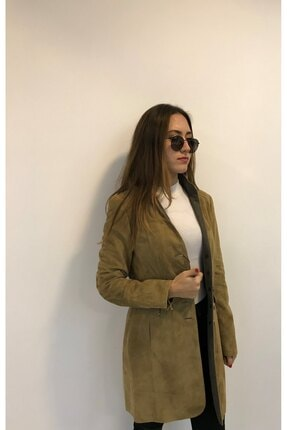 ASUS Kadın Bej Karolina ceket