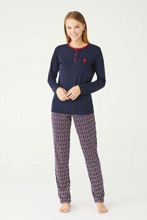 U.S. Polo Assn. U.s Polo Assn. Bayan Pijama Takımı 16389