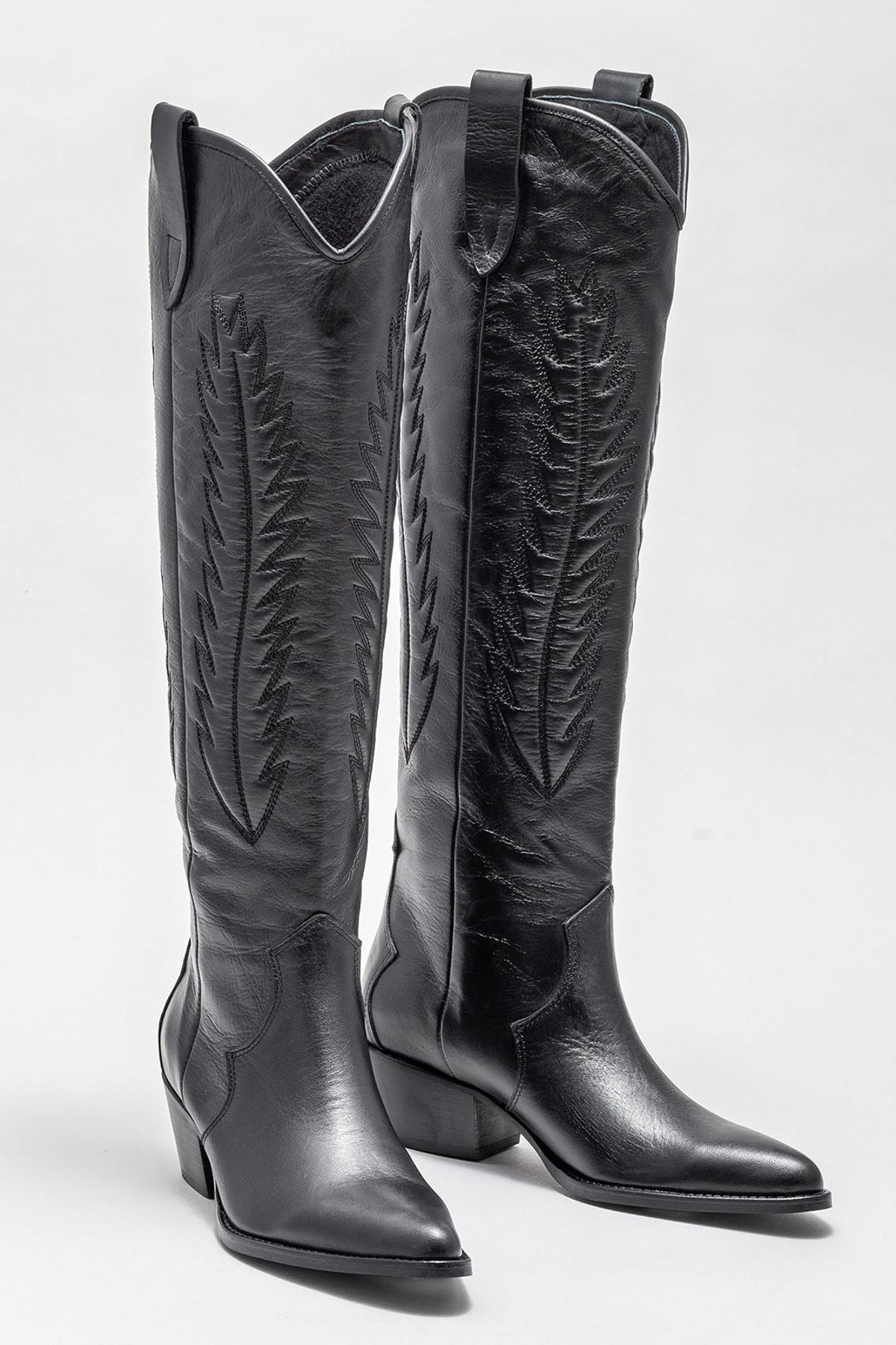 Elle Shoes Kadın COHAN-1 Çizme 20K045 2