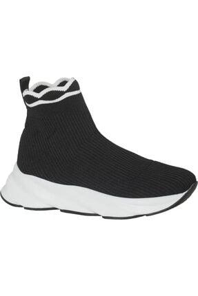 Catwalk Kadın Siyah Sneaker Ayakkabı