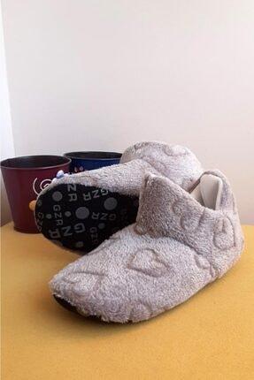 Moda Frato Gz3124 Kadın Panduf Ev Ayakkabısı Ses Yapmayan Taban