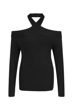 İpekyol Kadın Siyah Cutout Triko IW6200050226