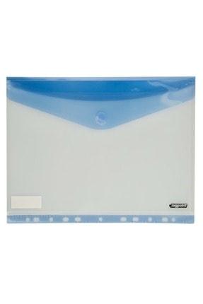 Bigpoint 11 Delikli Yan Cırtlı Dosya A4 Mavi