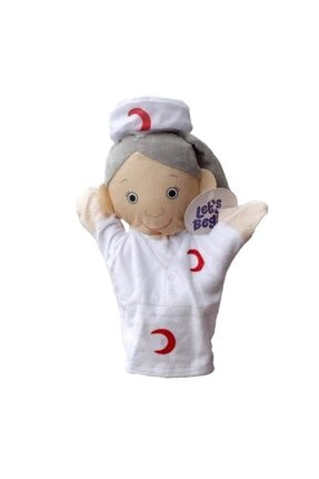 Bircan Meslekler El Kuklası - Hemşire