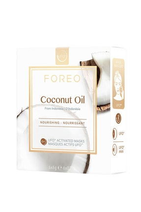 FOREO UFO™ Coconut Oil Besleyici 6'lı Aktif Maske 7350092139267