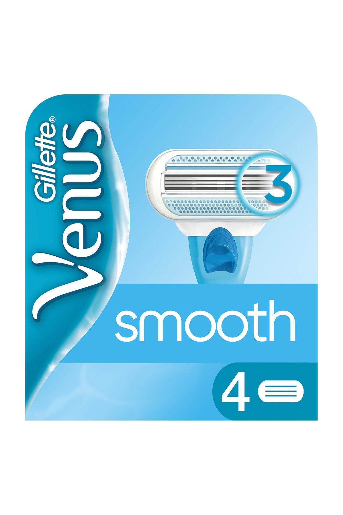 Gillette Venus Venus 4 Lü Yedek Kadın Tıraş Bıçağı 1