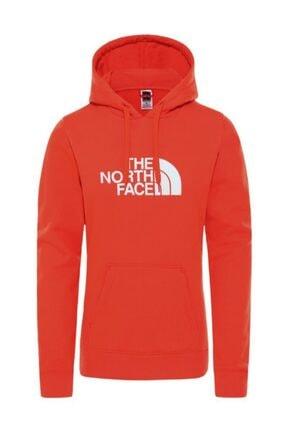 THE NORTH FACE Kadın Kırmızı Drew Peak Pullover Hoodie Sweatshirt