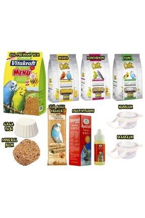 Vitakraft Premium Muhabbet Kuşu Besin Paketi 10 Parça