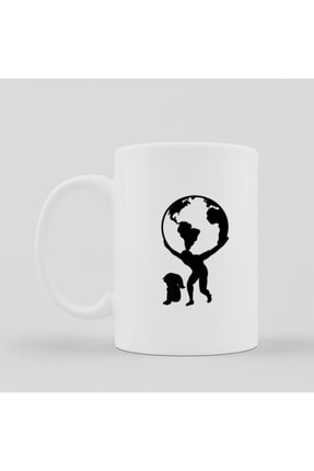 Hayal Store Kupa - Dünyaları Kaldıran Baba