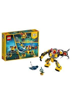 LEGO ® Creator® Sualtı Robotu 31090 | + Yaş Için 3'ü 1 Arada (207 Parça)