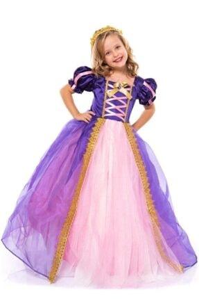 Riccotarz Kız Çocuk Sindirella Mor Kostüm