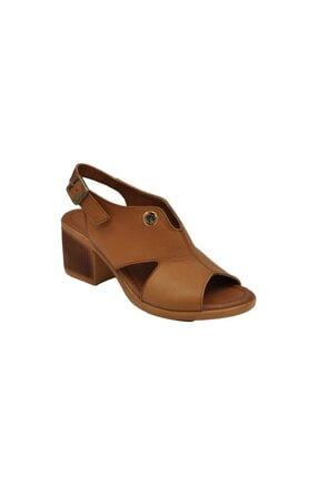 Pierre Cardin Taba Kadın Sandalet