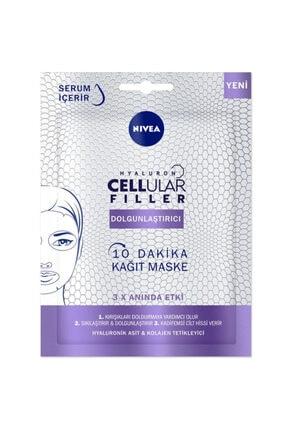 Nivea 10 Dakika Cellular Filler Dolgunlaştırıcı Kağıt Maske