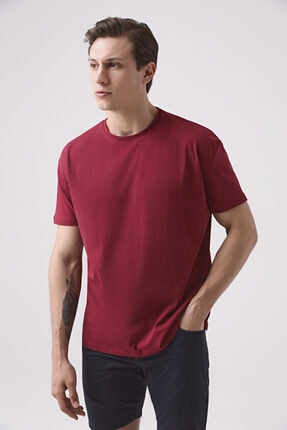 D'S Damat Oversize Bordo T-shirt