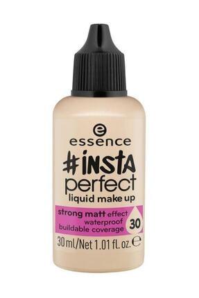 Essence Insta Perfect Liquid Make Up 30 30 ml Likit Mat Fondöten - 4059729020925