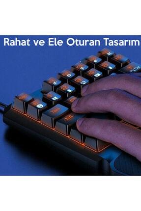 Baseus Gamo One-handed Gaming Keyboard- Tek El Mini Oyun Klavyesi