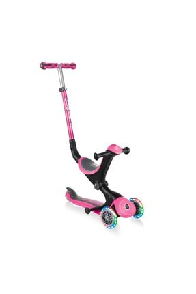 Globber Pembe Go Up Deluxe Işıklı Teker Scooter