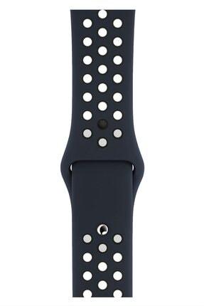 Apple Watch 2 3 4 5 6 Se Nike 38mm 40mm Uyumlu Kordon Kayış Bileklik Delikli Spor Band
