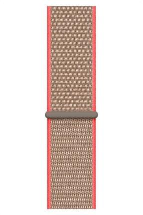 Apple Watch 2 3 4 5 6 Se Nike 38mm 40mm Uyumlu Kordon Kayış Bileklik Hasır Örgü Spor Loop Band