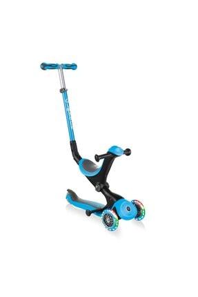 Globber Mavi Go Up Deluxe Işıklı Teker Scooter