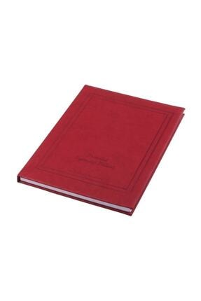 Gülpaş 649 Ziyaretçi Defteri Protokol Suni Deri 72 Yaprak 25x35 Cm