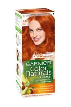 Garnier Color Naturals Saç Boyası 7.40 Sultan Bakırı