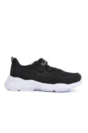 Pierre Cardin Pc-30630 Siyah Bantlı Fileli Çocuk Spor Ayakkabı