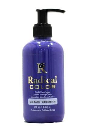 Radical Color Saç Boyası Gece Mavisi 250 ml 8680035541079