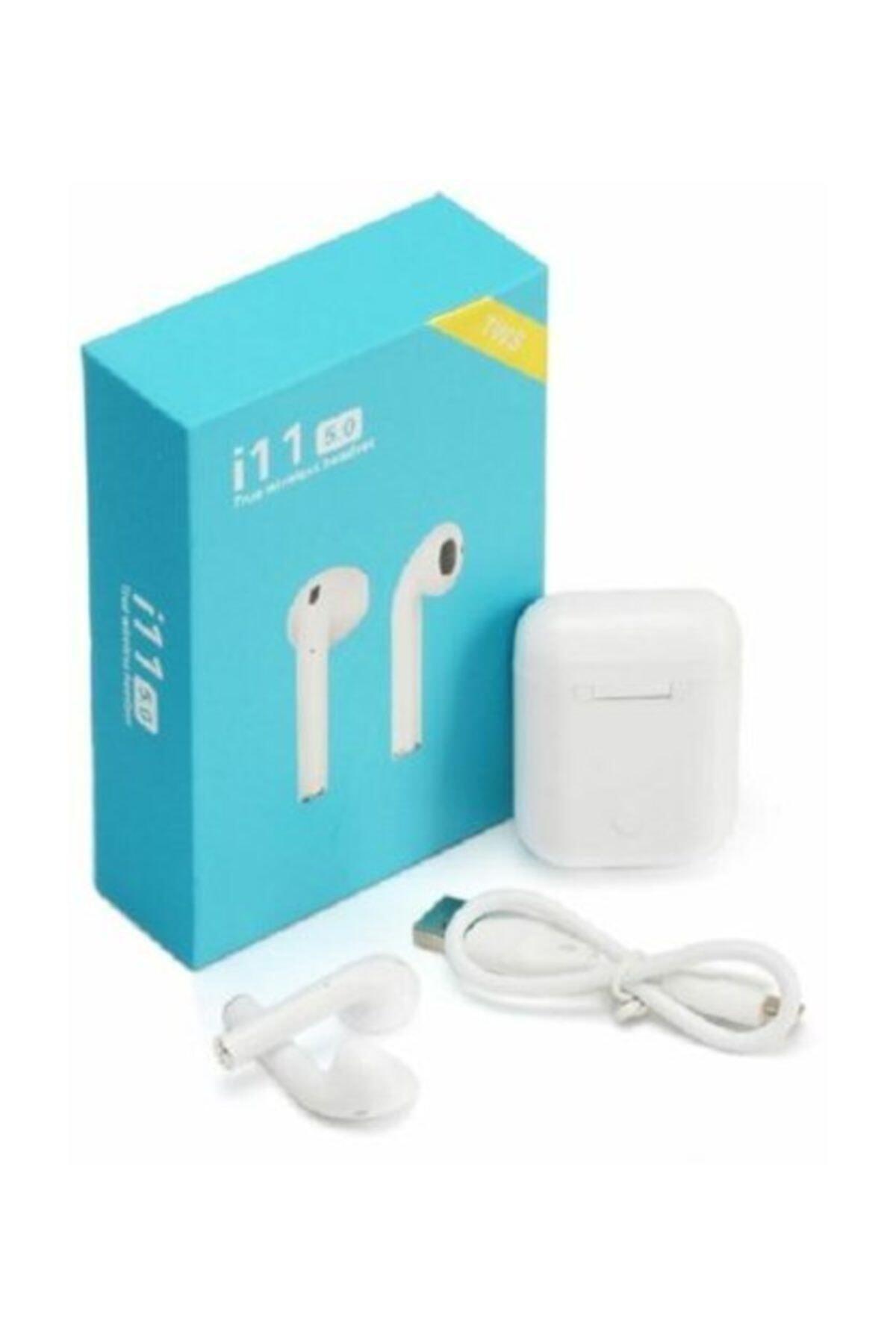 Tws I11 Air Pods Mikrofonlu Bluetooth 5.0 Çift Kulaklık I11 Fiyatı,  Yorumları - TRENDYOL