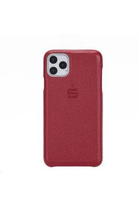 PLM F360 Deri Telefon Kılıfı Iphone 11 Pro Max Fl03 Kırmızı