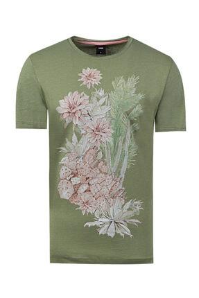 D'S Damat Tween Haki Baskılı T-shirt