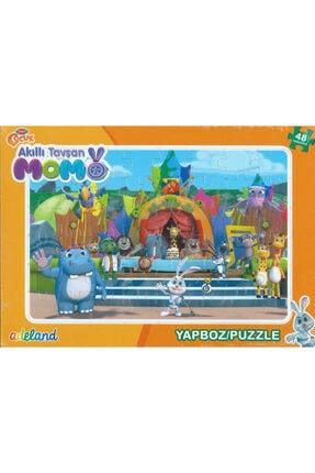 ADEL OYUNCAK Adeland TRT Çocuk Akıllı Tavşan Momo 48 Parça Yapboz / Puzzle (3+)