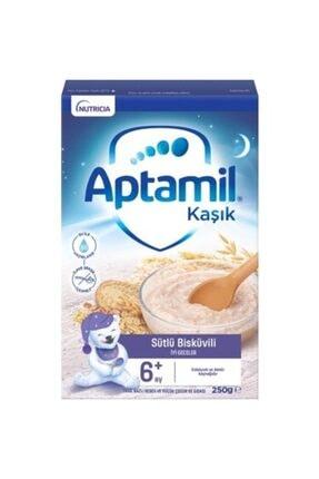 Aptamil Sütlü Bisküvili Kaşık Mama 250 gr