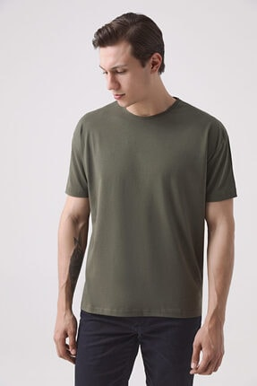 D'S Damat Oversize Haki T-shirt
