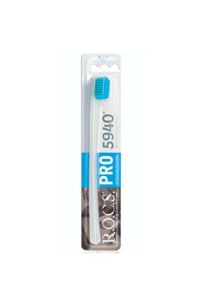 R.O.C.S. 5940 Adet Kıl Içeren Soft Diş Fırçası - Mavi Kıl