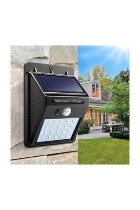 96 Solar Güneş Enerjili Şarj Olabilen 20 Ledli Bahçe Lambası