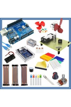 Arduino Başlangıç Seti Uno R3 ( Ch340 ) Giriş 31 Parça 128 Adet