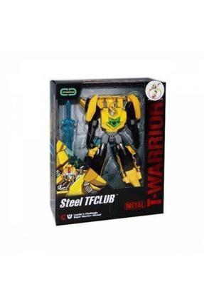 transformers T-warrior Metal Gövdeli Dönüşebilen Robot Araba
