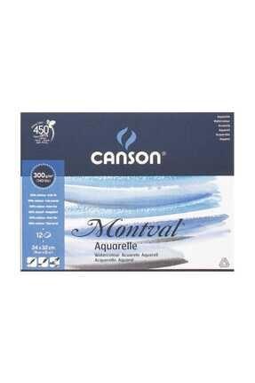 Canson Montval Suluboya Defteri 300gr 24x32 12 Sayfa