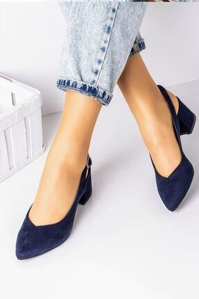 Lal Shoes & Bags 5 Cm Topuklu Bayan Topuklu Ayakkabı-s.lacivert