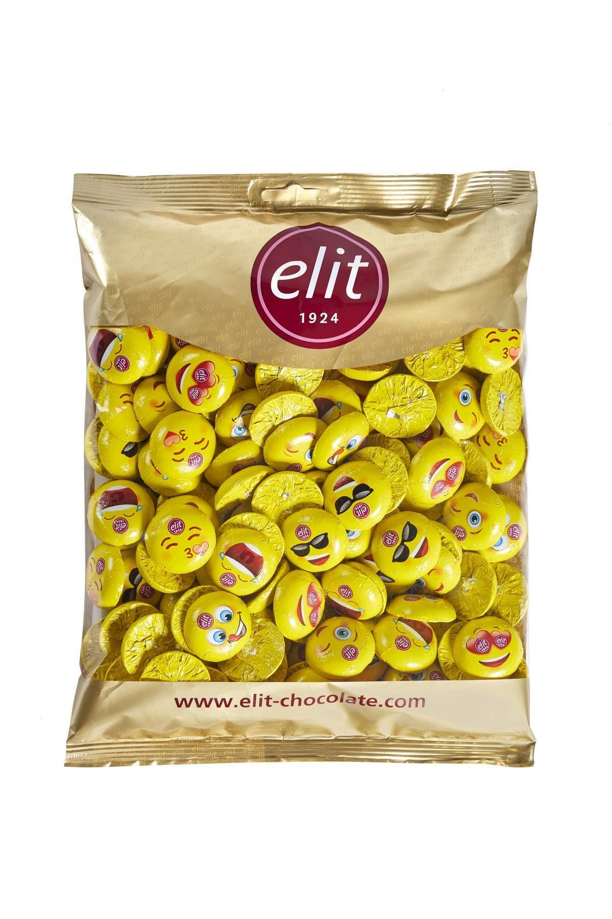 Elit Çikolata Mini Elitoloji Emoji Çikolata 1 Kg Glutensiz 1